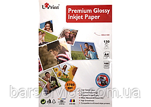 Фотобумага глянцевая UPrint Premium Glossy Inkjet Paper A4 (100 листов / 130 г/м2)