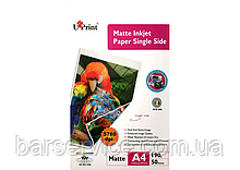 Фотобумага матовая UPrint Matte Inkjet Paper Single Side A4 (50 листов / 190 г/м2)