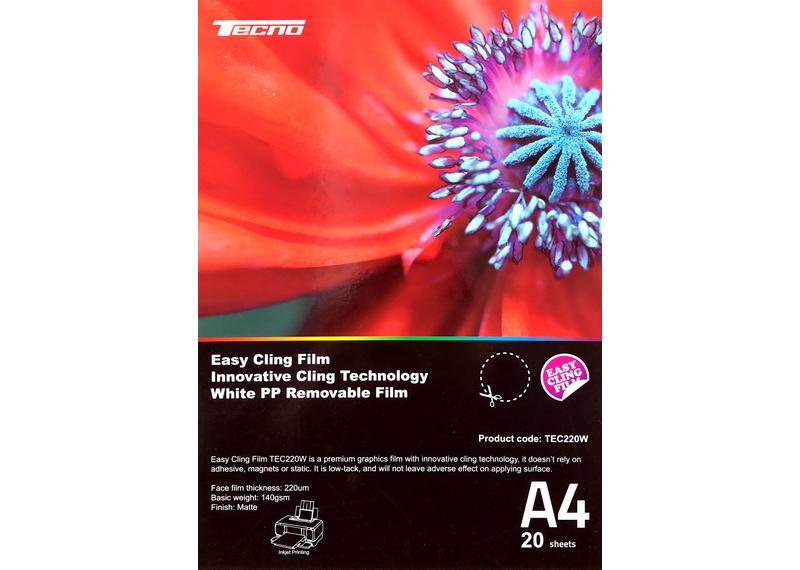 Плівка TECNO Easy Cling Film A4 TEC220W (20 аркушів)