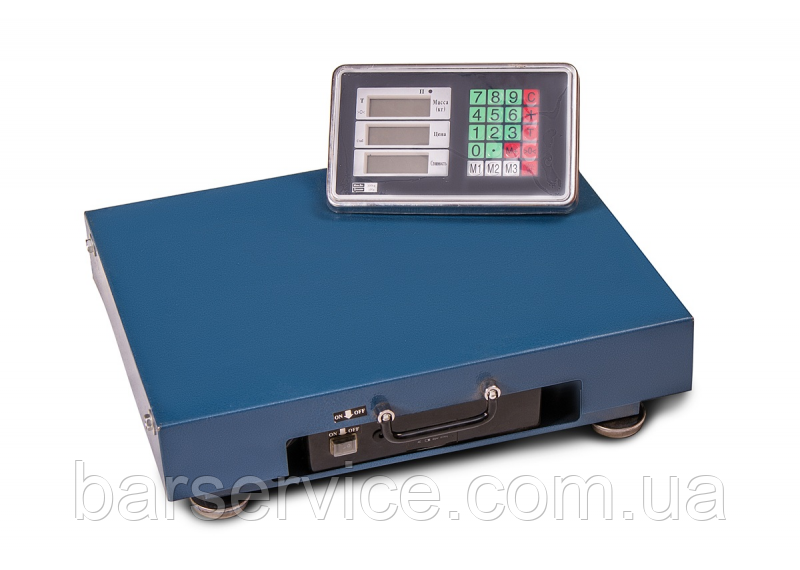 Ваги торгові WIMPEX 600 kg ,WIFI 52x62cm