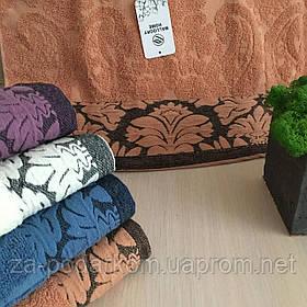 Набор полотенец 4 шт Нежность махровые лицевые