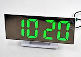 Настільні годинники з зеленою підсвіткою DS-3618L, фото 2