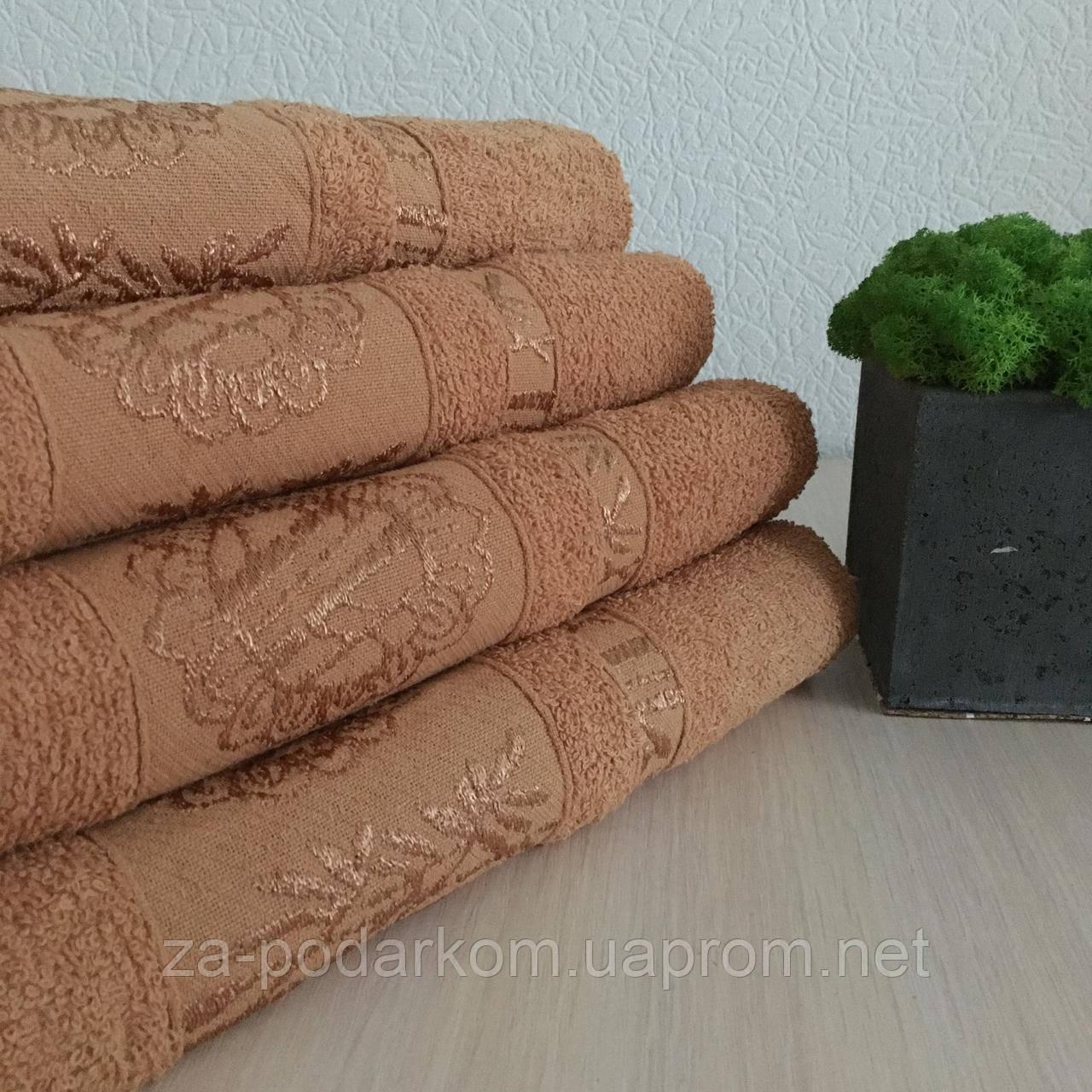 Рушник банний Бамбук 140x70cm (300г/м2) пісочне