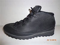 Ботинки мужские Mercury 93141 черные кожаные
