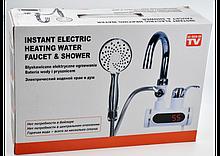 Проточний водонагрівач з душем
