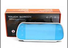 """Зеркало со встроенным сенсорным монитором 7"""" LCD+BT с подключением камеры"""