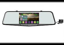 "Зеркало с видеорегистратором с радар-детектором Eplutus GPS GR-51 (5"" / 2 кам. / FullHD)"