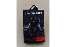 Автомобільний зарядний пристрій QC 3.0 (6A) 681