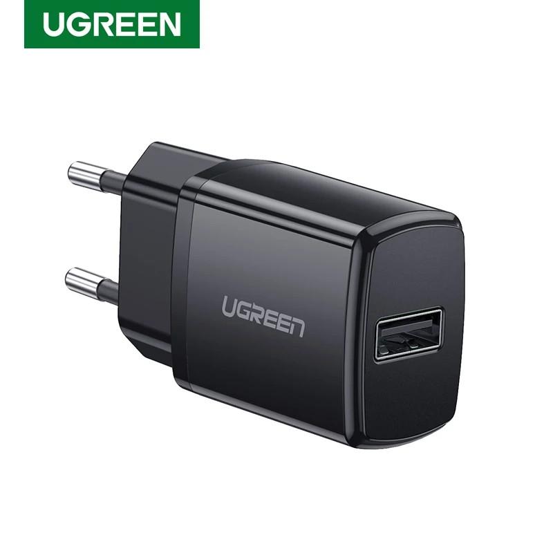 Универсальное зарядное устройство USB UGREEN ED011 10.5 Вт 5V/2.1A Black