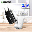 Универсальное зарядное устройство USB UGREEN ED011 10.5 Вт 5V/2.1A Black, фото 2