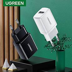 Універсальний зарядний пристрій USB UGREEN ED011 10.5 Вт 5V/2.1 A Black, фото 2