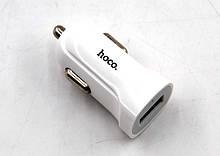 Автомобільний зарядний пристрій hoco. Z2 (1.5 A / 1 USB порт + кабель для iPhone)
