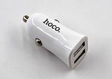 Автомобільний зарядний пристрій hoco. Z12 (2.4 A / 2 USB порту + кабель для iPhone)