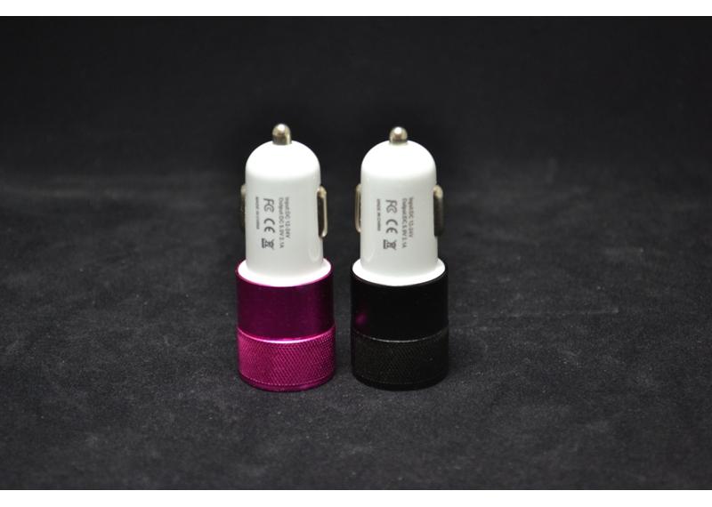 Автомобільний зарядний пристрій 5018 (2,1 A / 2 USB)