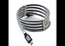 Кабель LDNIO LS491 micro USB cable з магнітом