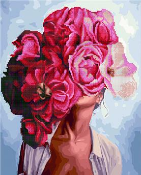 Алмазна картина Піонові мрії Емі Джадд (GZS1170) 40 х 50 см (Без коробки)