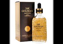 Сироватка для обличчя 24K Gold Ampoule Goldzan (100мл)