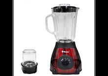 Блендер 2 в 1 Domotec MS-6611 з кавомолкою (скляна чаша)