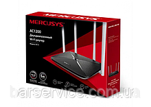 Wi-Fi роутер Mercusys AC12 двухдиапазонный