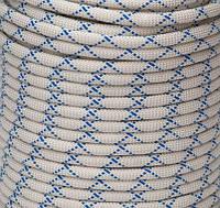 Статическая полиамидная веревка ЕВРО класса, диаметром 10 мм (шнур 10мм)