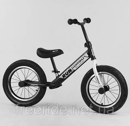 """Велобіг від CORSO Run 14"""" сталева рама, колеса надувні гумові, фото 2"""