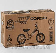 """Велобіг від CORSO Run 14"""" сталева рама, колеса надувні гумові, фото 3"""