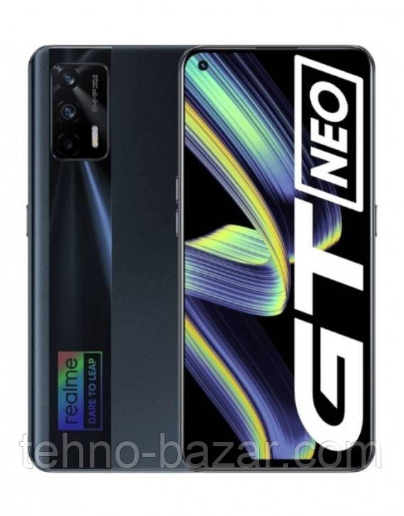 Смартфон Realme Gt NEO 8/128gb Black MediaTek MT6893 4500 мАч