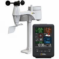 Метеостанция National Geographic Weather Center 5-in-1 256 colour Black