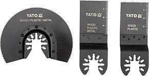 Пильные насадки для реноватора (мультиинструмента) по металлу пластику и дереву YATO YT-34691
