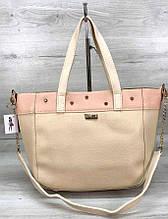 Женская сумка с плечевым ремнем Aliri-555-29 бежевая