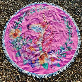Полотенце-коврик пляжное круглое (Арт. TPA113/14)