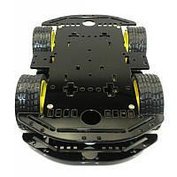 Платформа для робота Arduino, Raspberry Pi, AVR, STM32 (4 колеса, 4 мотора), фото 1
