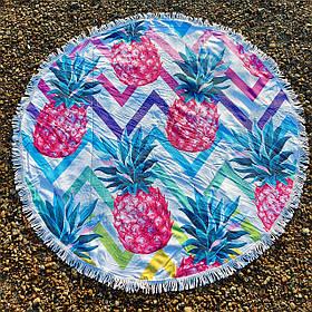 Полотенце-коврик пляжное круглое (Арт. TPA113/25)