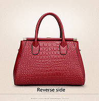 Стильная кожаная женская сумка. Модель 475, фото 2
