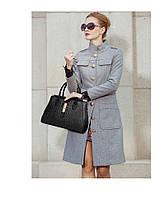 Стильная кожаная женская сумка. Модель 475, фото 3