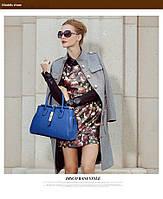 Стильная кожаная женская сумка. Модель 475, фото 5