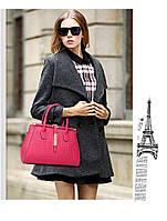 Стильная кожаная женская сумка. Модель 475, фото 7