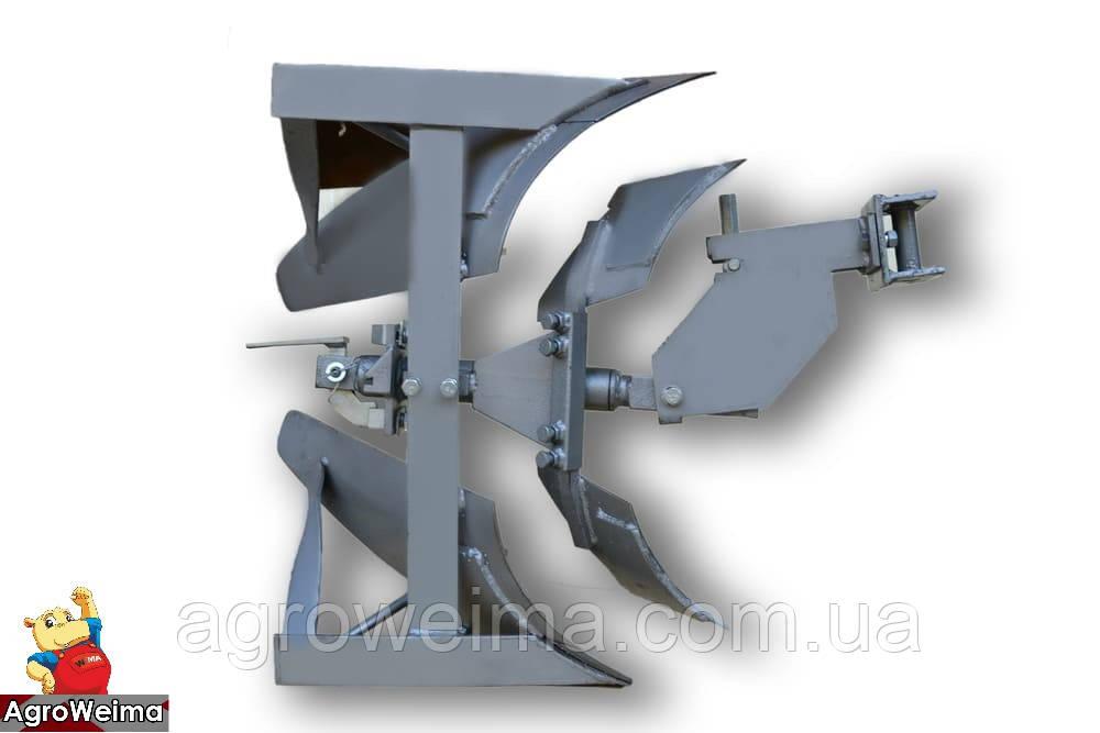 Плуг оборотный с предплужником для мотоблоков Мотор Сич (AMG)