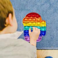 Модный тренд антистресс сенсорная игрушка Pop It Among Us - многоразовая пупырка, вечные пузырики Поп Ит