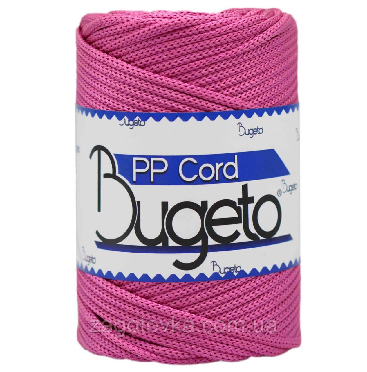 Полипропиленовый шнур Bugeto PP Cord 5mm, цвет Фуксия