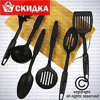 6шт. Набір кухонних ополоників і лопаток / прилади для кухні на стійці
