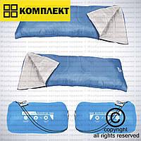 2шт./комплект Спальный мешок Bestway Pavillo Side Entry 180x75 см, арт. 67060 (68099) Evade 15