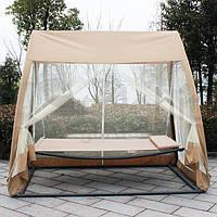 Гойдалка-гамак з москітною сіткою, павільйон садовий 3в1, фото 1