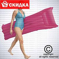 Пляжный надувной матрас Bestway с подголовником, 183-76 см, 4 цвета, (шт.)