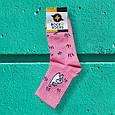 Яскраві барвисті шкарпетки з принтом кіт драп Rock'n ' socks, фото 3