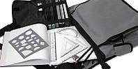 Сумка-набор для скетчинга (скетчбук в комплекте) 44*30*13 см. США 540344