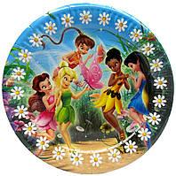 "Тарелки "" Феи Tinker Bell"". Размер: 18см. В упак: 10шт."