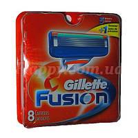 Сменные кассеты Gillette Fusion 8 шт (США,качество протестировано мужчинами нашей компании )