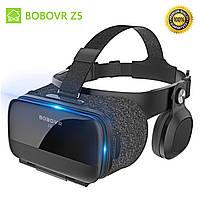Очки шлем виртуальной реальности BoboVR Z5 3D Original с Наушниками и Пультом ДУ Bluetooth 120° Black (HH
