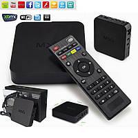 Smart Android TV Box MXQ Amlogic S805 - мощный медиаплеер для ТВ, 1/8Gb, Wi-FI, Bluetooth, RCA / HD
